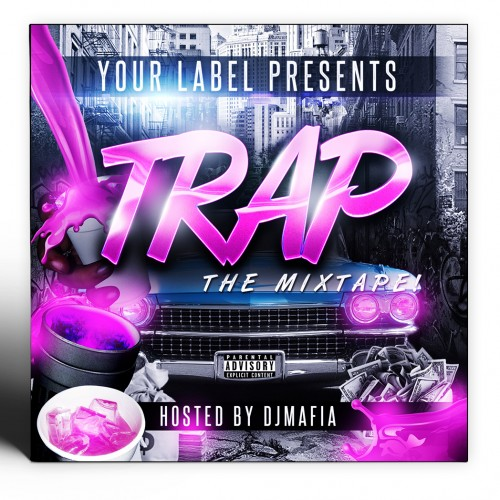 Trap Mixtape Cover Template