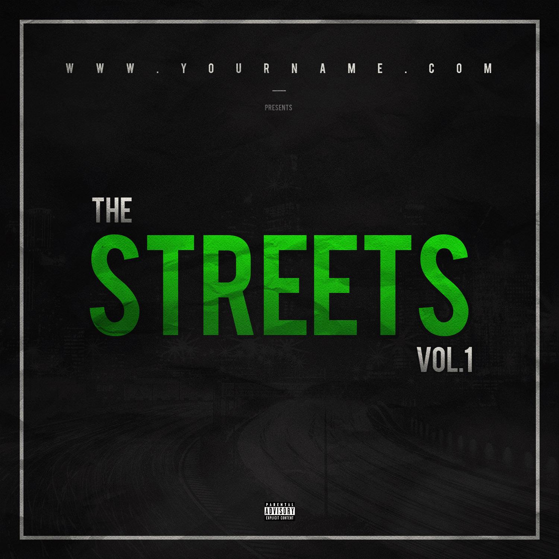 Street Mixtape Cover Template Vms