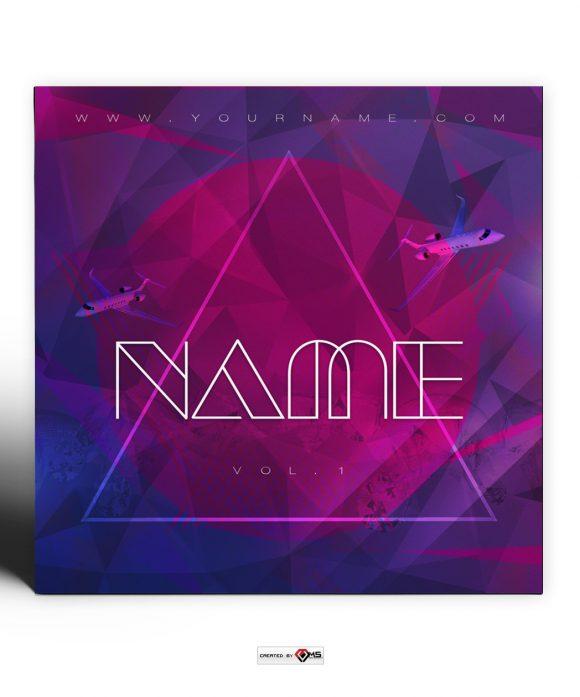 Alpha Premade Mixtape Cover