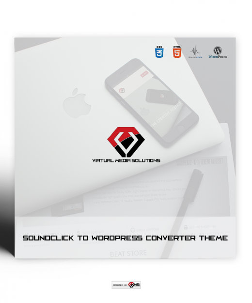 Soundclick to Wordpress Converter Theme