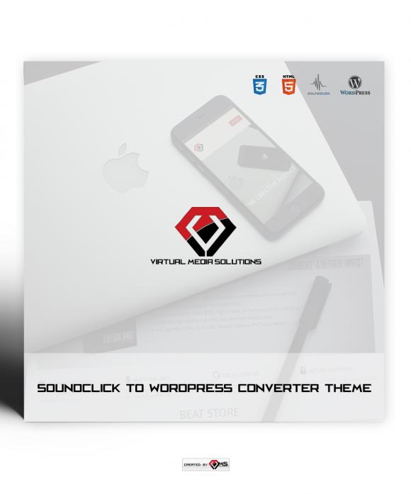 Soundclick to Wordpress Converter Theme