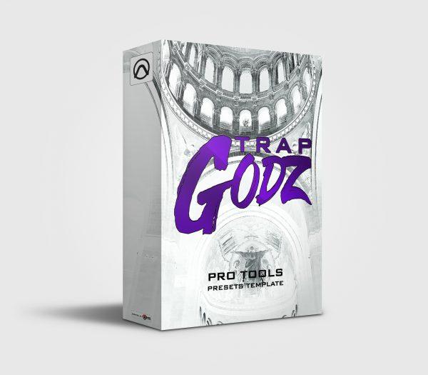 Custom Drumkit Box Design Trap Godz Fedarro