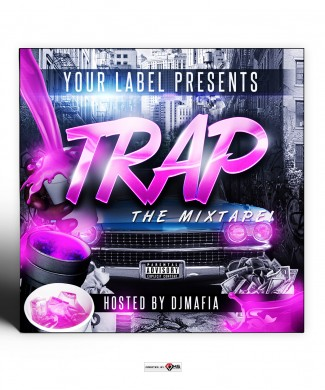 Trap Mixtape Cover Template