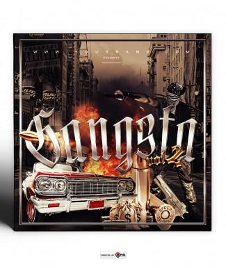 Gangsta Mixtape Cover Template