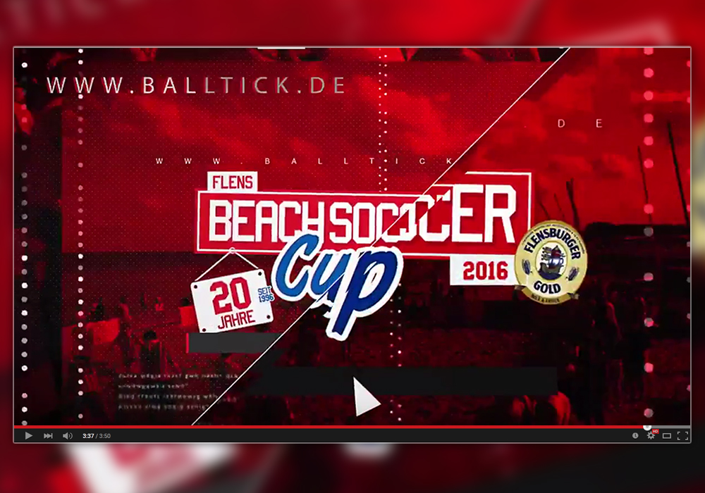 Flens BeachSoccer Cup 2016 – Promo Video