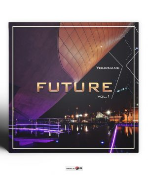 Future Mixtape Cover Photoshop PSD Template