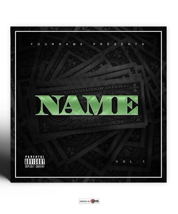 Dark Money Premade Mixtape Cover