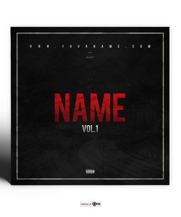 Streets Premade Mixtape Cover
