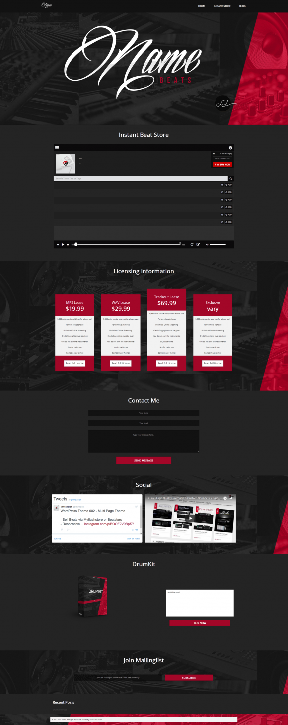 Full Size Preview Wordpress Theme 063
