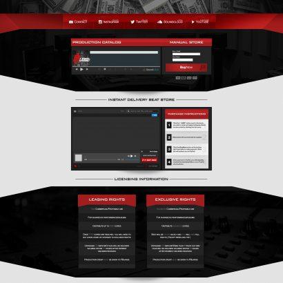 PBLarge Custom Soundclick Layout