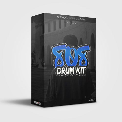 Premade Drumkit Box Design 007