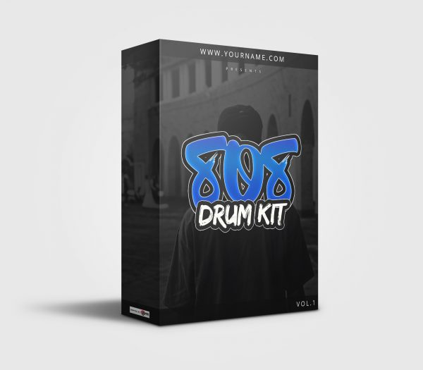 Premade Drumkit Box Design 007