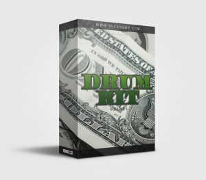 Premade Drumkit Box Design Dollar