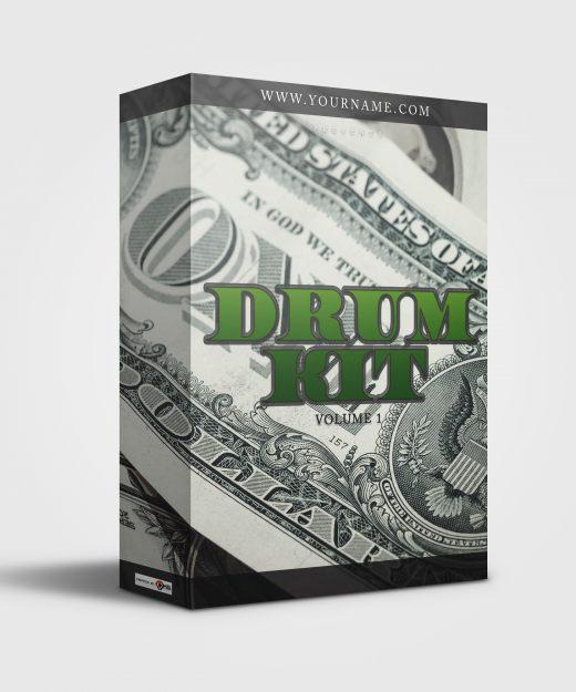 Premade Drumkit Box Design Dollar