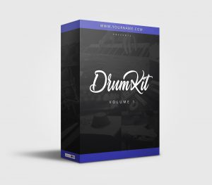 Premade Drumkit Box Design 066