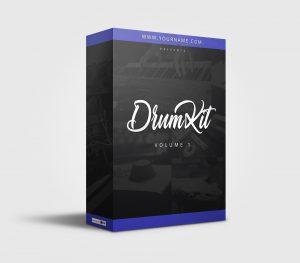 Premade Drumkit Box Design 066