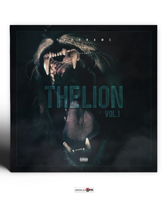 The-Lion-Mixtape-Cover-Template-preview
