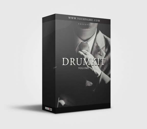 Premade Drumkit Box Design Business