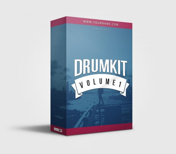 Premade Drumkit Box Design 067
