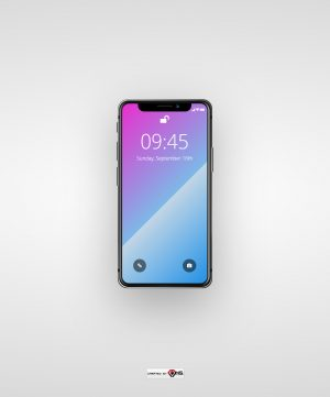 Apple IPhoneX pure HTML and CSS Template