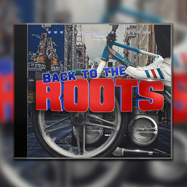 Back to the roots Beat Tape Cover Design