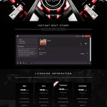 Premade One Page Website #068