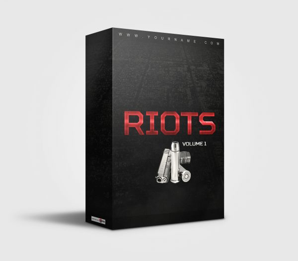Premade Drumkit Box Design Riots