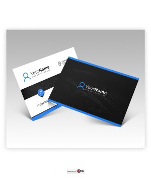 Premade Business Card Design Mixava
