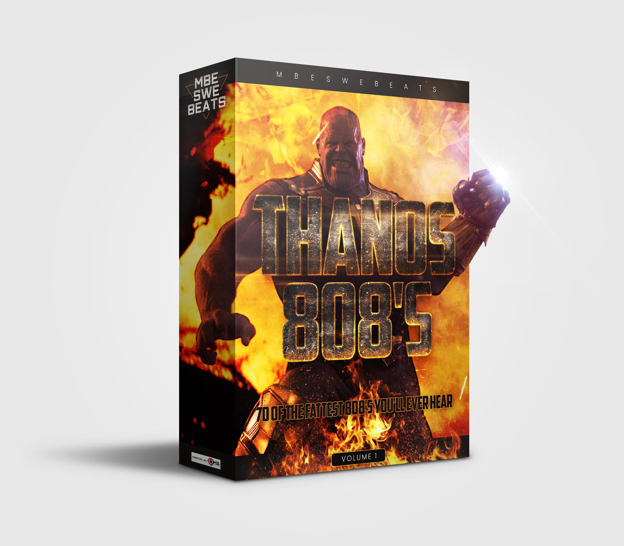 Custom Drumkit Box Design Thanos 808s
