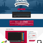 Premade Soundclick Layout 067