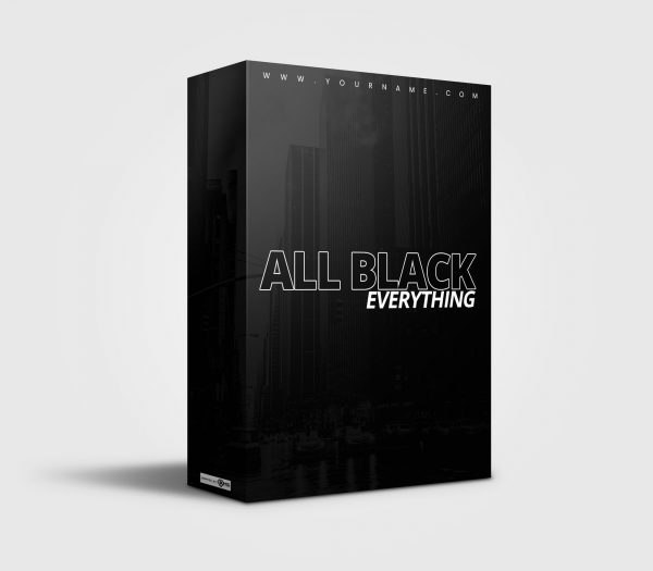 Premade Drumkit All Black Everything