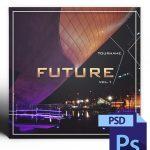 Future Mixtape Cover Template PSD