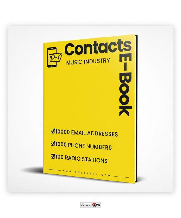 Premade Contacts E-Book E-Book Cover