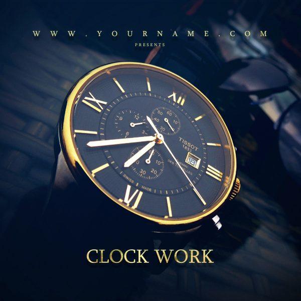 Clock Work Mixtape Cover Front