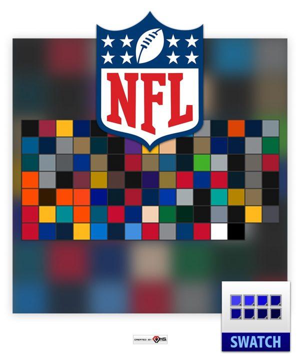 NFL Team Color Photoshop Swatch aco