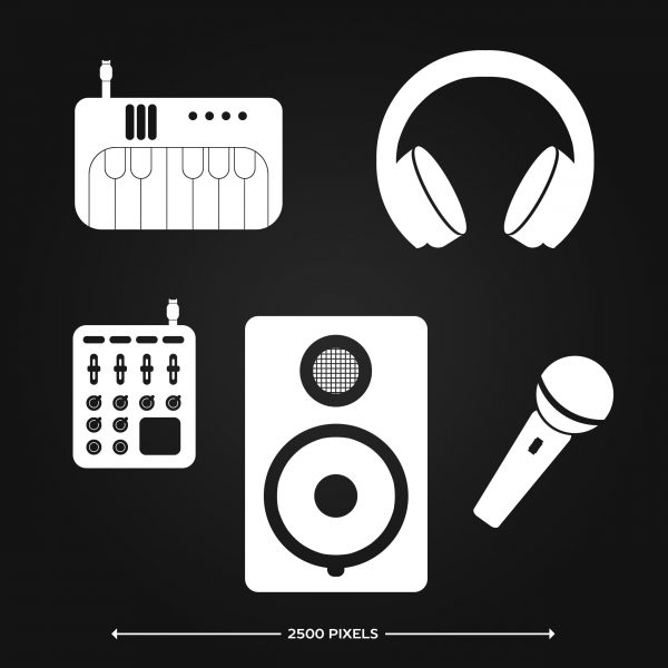 Producer Tools Icons