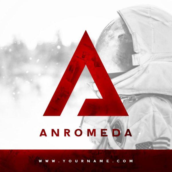 Premade Logo #033 Preview Andromeda