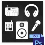 Producer Tools Icons Photoshop File