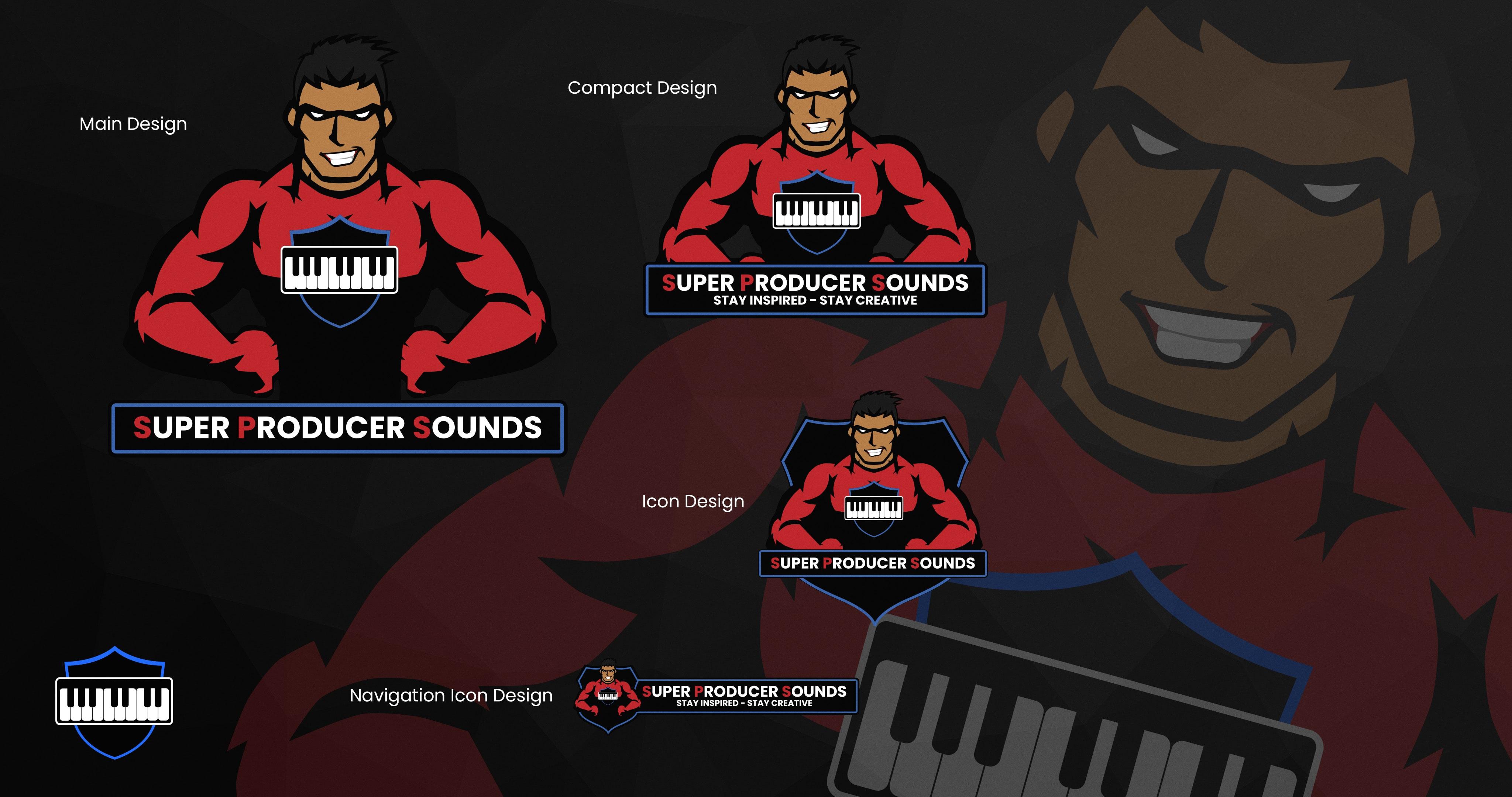 Super Producer Sounds Logo Designs