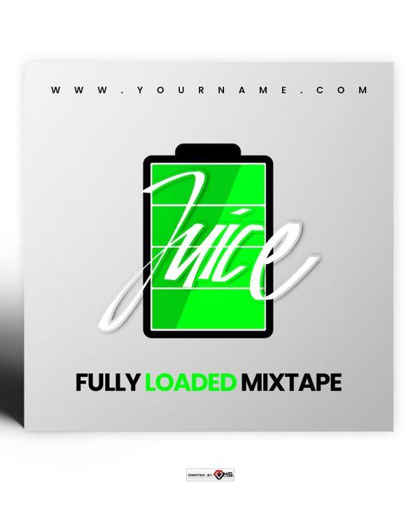 Juice Premade Mixtape Cover