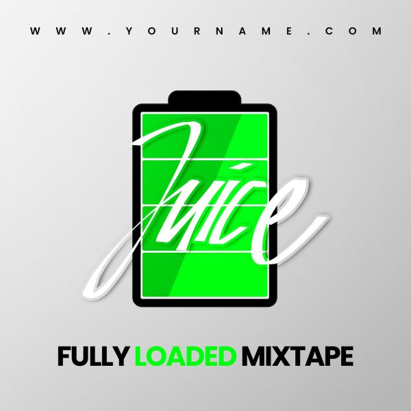 Juice Premade Mixtape Cover Front