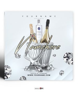 Diamonds Premade Mixtape Cover Preview