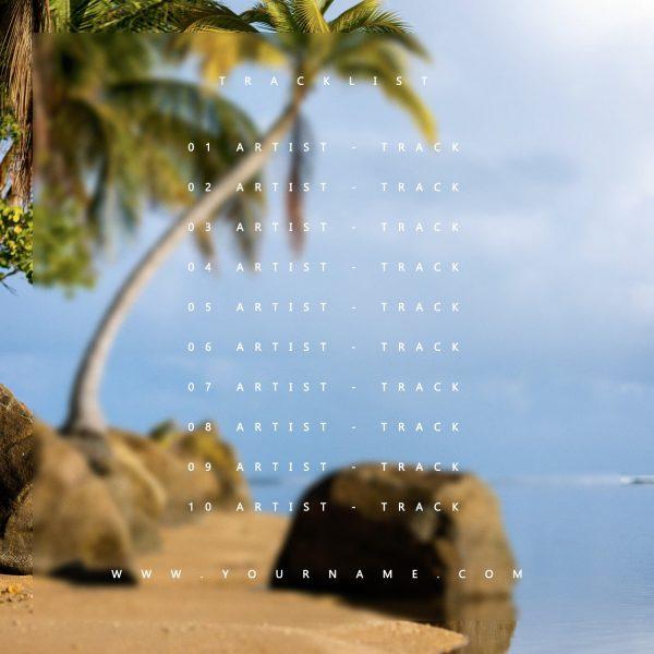 Palmera Premade Mixtape Cover Back