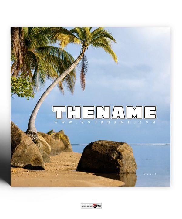 Palmera Premade Mixtape Cover Preview