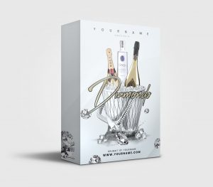 Diamonds premade Drumkit Box Design