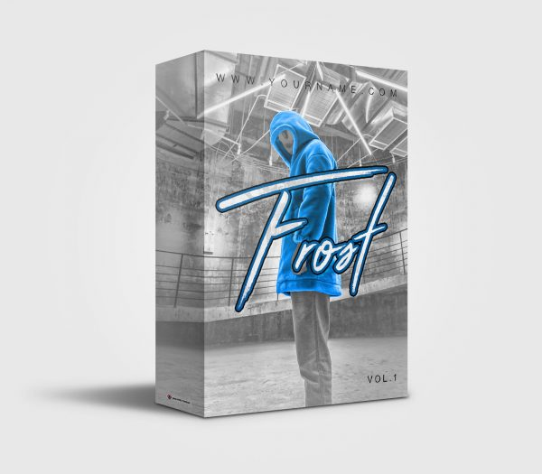 Frost premade Drumkit Box Design