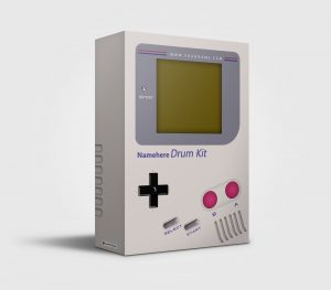 Gameboy premade Drumkit Box Design