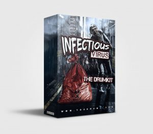 Infectious Corona Virus premade Drumkit Box Design