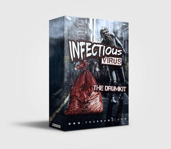 Infectious Corona Virus premade Drumkit Box Design