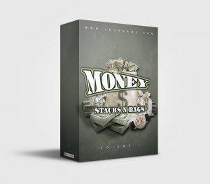 Money Stacks n Bags premade Drumkit Box Design